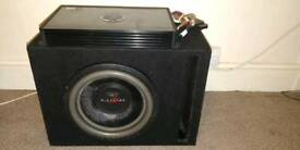 DB Audio Trex subwoofer 12inch in a ported box 3000watt