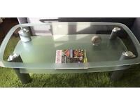 £150 glass coffee table for £25