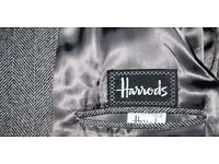 Harrods Herringbone men's overcoat