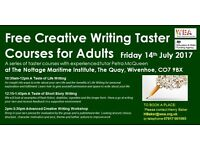 FREE Creative Writing sessions in Wivenhoe, Colchester!