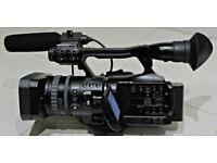 SONY HVR V1E PROFESSIONAL HD CAMCORDER BUNDLE--- GOOD CONDITION