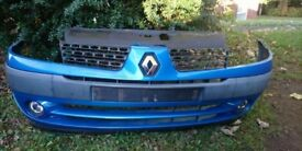Renault clio 2002 front bumper wings rear lights