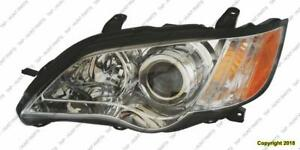 Head Lamp Driver Side Outback 08-09 High Quality Subaru Legacy 2008-2009