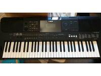 Yamaha PSR E453 Keyboard - Rarely USED - Comes with Stagg Bag.