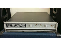 Amcron Macro-Tech 601 Rare Vintage Amplifier