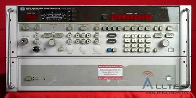 Hp - Agilent - Keysight 8673d 0.05 To 26.5ghz Synthesized Signal Generator
