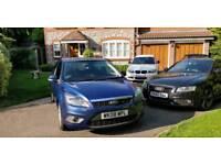 Ford Focus 1.6 Zetec Automatic in blue