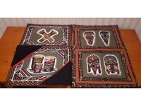 4 x South American Table Mats