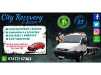 24/7 Recovery & Rescue Fast Reliable & Friendly / We Buy Scrap Cars! £££ Cash
