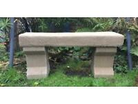 A Lovely Old Stone Bench Handmade £80