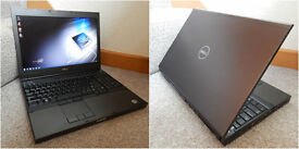 """Mint condition Dell Precision M4600 Core i7 Extreme 15.6"""" Workstation. 12GB RAM. 120GB SSD 500GB HDD"""