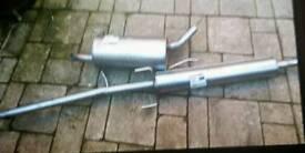 Vauxhall corsa exhaust