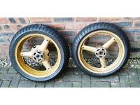 Suzuki bandit GSF 1200 Wheels & Tyres RF900