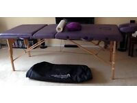 Professional portable massage table & accessories