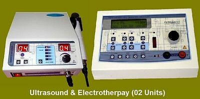 Combo Ultrasound  Electrotherapy 2 Units In One Sale Therapy Machine S