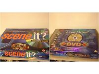 Trivia pursuit DVD game & Scene it the DVD game