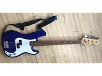 Fender squire p bass guitar