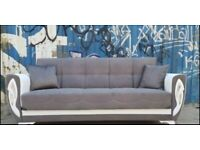 !! NEW ALISA SOFA-BED !! AVAILABLE NOW IN 3 SEATER SOFA-BED WITH STORAGE INSIDE