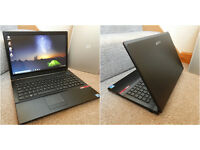 "Perfect condition Dell Ergo 15.6"" i5 HDMI laptop. 6GB DDR3 RAM. 320GB hard drive. Intel HD Graphics."