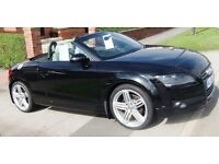 "Audi tt FULL Leather 6 CD sound system Bose speakers Parking sensors Climate control 19"" Alloys FSH"