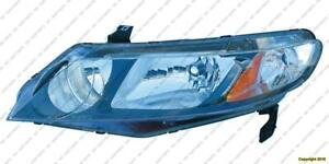 Head Lamp Driver Side [Hybrid 2006-2011] [Sedan 2009-2011] High Quality Honda Civic