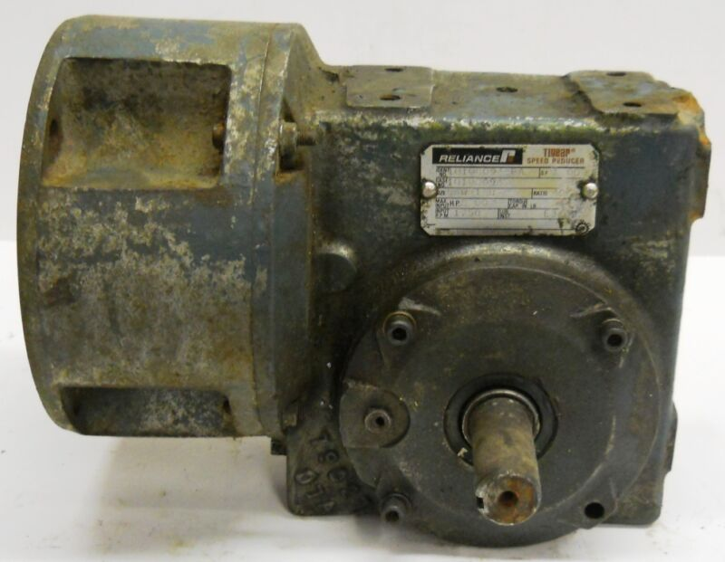 RELIANCE TIGEAR SPEED REDUCER 2 HP, 1018094-PA, 10108094, 56WM16B, 40:1