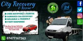 WE BUY SCRAP CARS! City Recovery & Rescue / Transport / 24hr Service / Tow Truck