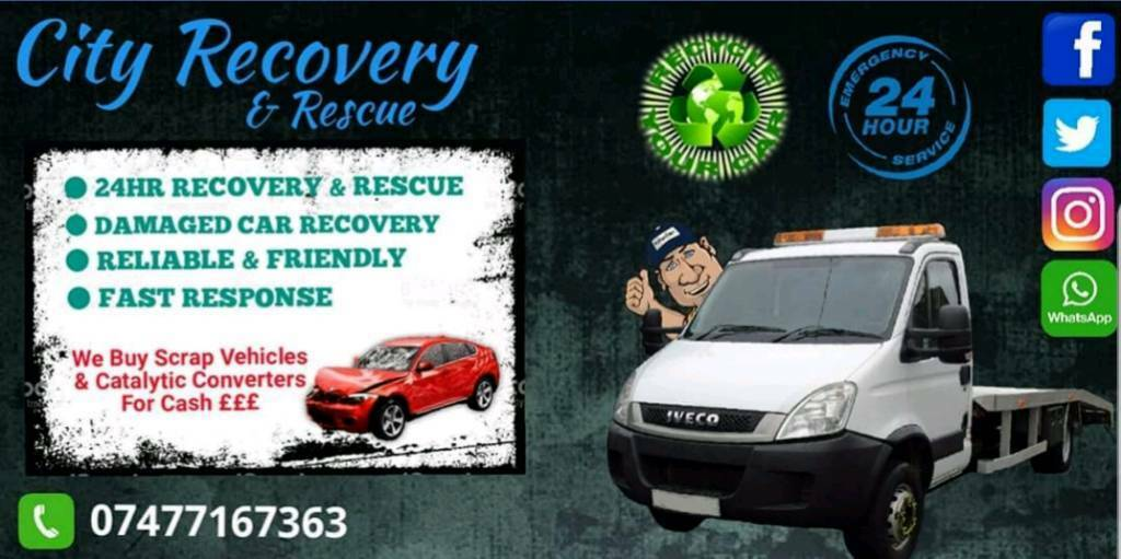 WE BUY SCRAP CARS! City Recovery & Rescue / Transport / 24hr Service ...
