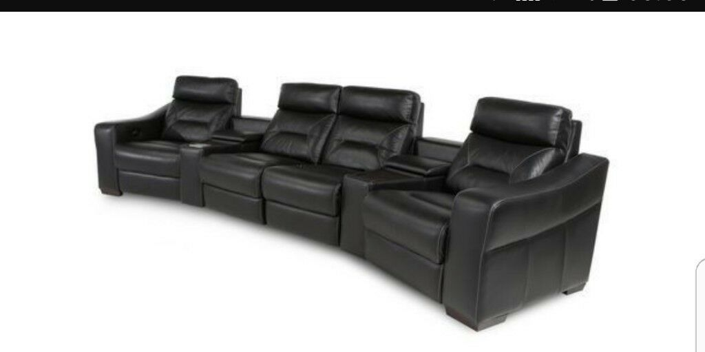 DFS Dynamo Audio Electric Recliner Sofa