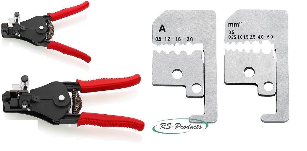 KNIPEX Zange Abisolierzangen mit Formmessern