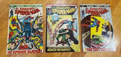 Lot of 3 The Amazing Spider-Man #105,108,115 FREE SHIP-SHASHAN-DOC (The Amazing Spider Man 3 Doc Ock)
