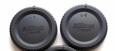 2 X Nikon BF-1B Body Caps for SLR/DSLR Cameras. U.S.Seller. Fast ship. 100% FB!!