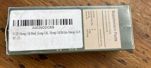 YGJD HEMP oil 10.000MG Omega 3,6,9 2