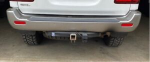 100 series Landcruiser rear bumper