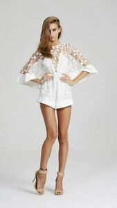 Alice McCall White Gypsy Eyes Playsuit Nightcliff Darwin City Preview