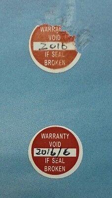 Round10 Mm Void Warranty Label Sticker 240 Pcs