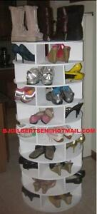 ... Lazy Shoe-zen Shoe Carousel Storage. Build Your Own! INSTRUCTIONS ONLY