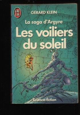J'ai Lu 2247 Gérard Klein LES VOILIERS DU SOLEIL Argyre