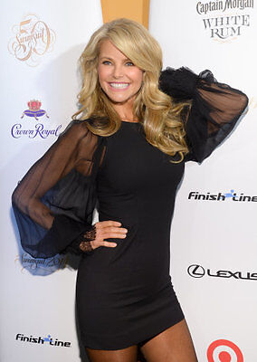 The LBD superbly modelled by Christie Brinkley
