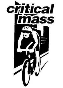 Critical Mass pushbike ride, 1st Friday , monthly 6pm, Civic Park Newcastle Newcastle Area Preview