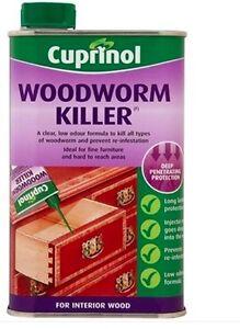 CUPRINOL WOODWORM KILLER (SOLVENT BASED) 5 LITRES - GRAB A BARGAIN!