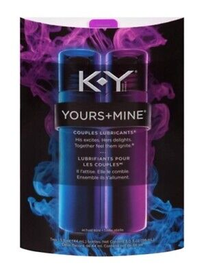 KY Yours & Mine Couples Lubricant, 3
