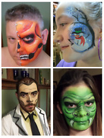 Professional Face Painting, Glitter Tattoos, Henna Designs