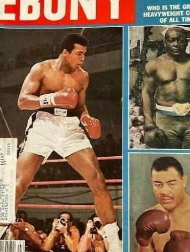 Vintage Ebony Magazine Mar 1978 Ali, Johnson, & Louis