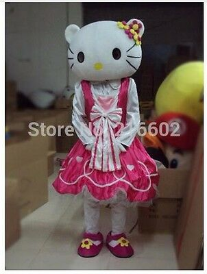 Mascot Costume for Adults Hello Kitty for Parties and Birthdays Size XL New - Kitty Costumes For Adults