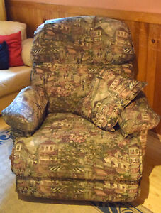 Fauteuil style lazy boy inclinable