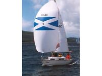 Fast, safe and fun sailing yacht for sale
