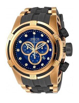 New Mens Invicta 90018 Reserve Bolt Zeus Swiss Chronograph Polyurethane Watch