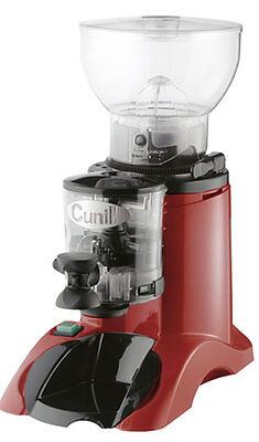 Cunill Commercial Espresso Grinder - Red