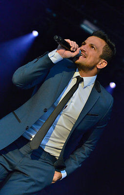 Suits... Peter Andre you take the biscuit